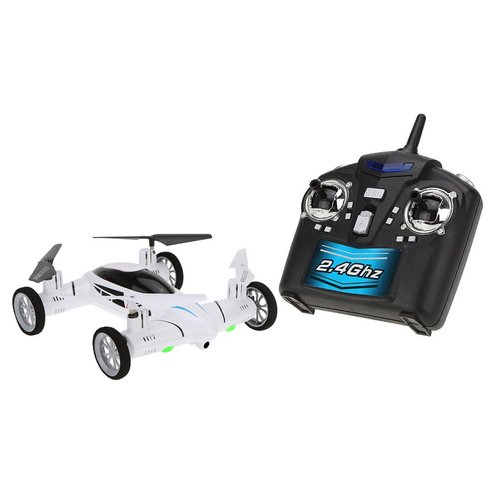 JIMI Original X25 2.4G 4CH 6 Axis Gyro Air-Gronud RC Flying Car Drone without Camera 360 Degree Flips Auto Return Dron