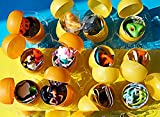 [RusToyShop] 10psc for Girls Toys From Kinder Surprise Eggs in Shells Capsules Party FavorToy Filled Easter Eggs