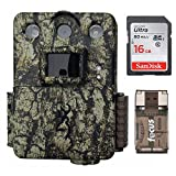 Browning Command Ops Pro 14MP Rapid Fire Trail/Game Camera with 16GB SD Card and Focus USB Reader