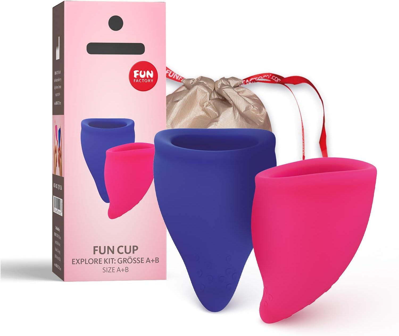 Fun Factory FUN CUP EXPLORE KIT - copa menstrual talla A y B ...