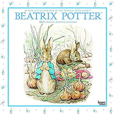 Calendario 2017 Beatrix Potter - Pierre le conejo - Jeannot ...