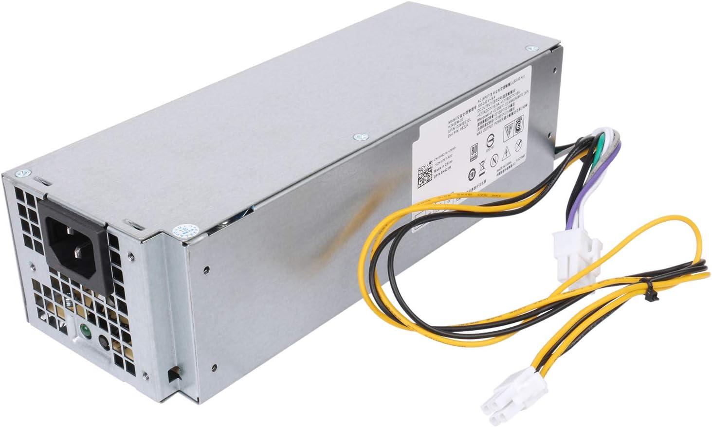 Li-SUN 240W Switching Power Supply for Dell Optiplex 3040 5040 7040 3650 3656 SFF(Part Number: THRJK 4GTN5 D7GX8 HGRMH 2P1RD H62JR 3RK5T)