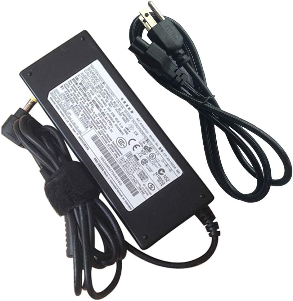 Power Supply Charger for Panasonic Toughbook CF-AA1653A MA CF-73 CF-29 CF-30 15.6V 5A Ac Adapter 78W with Cord Laptop