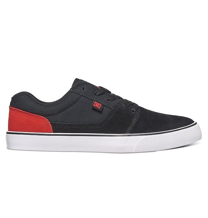 DC Shoes Tonik Sneakers Skateboardschuhe Herren Damen Unisex Erwachsene Schwarz/Rot