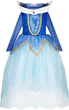 Katara 1772 - Disfraz de Princesa Aurora Bella Durmiente - Niñas 6 ...