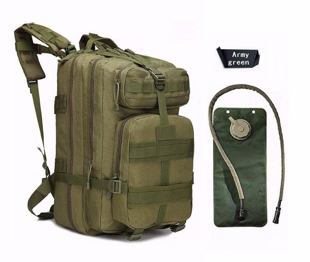 Niree Motorbike Backpack Motorcycle Bag Outdoor Sports Riding Package 40L Green With 3 Liter Hydration Water Bladder System Fit For 1997 1998 1999 2000 2001 2002 2003 TRIUMPH Daytona 955i