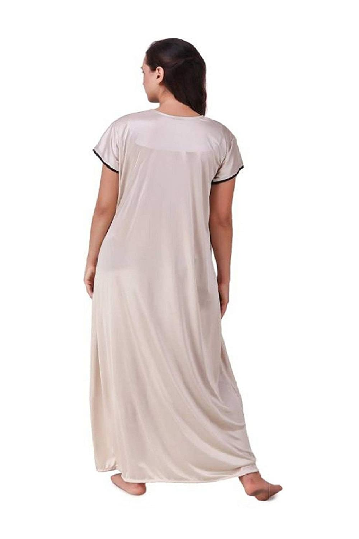 Diljeet® Women Girls Beautiful Satin Red Nighty Off-White Nighty Night Dress  Combo Black Lace (Free Size Large Extra Large Medium)  Amazon.in  Clothing    ... 72def0cf2