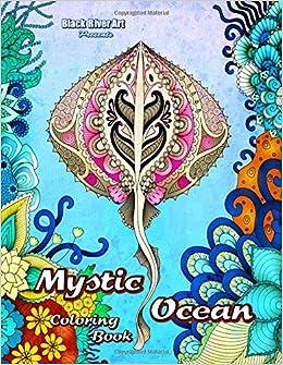 Amazon Mystic Ocean Coloring Book 9781544645391 Karlon Douglas Books