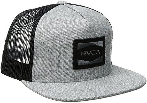RVCA Cedars Trucker Gorra, color negro y gris: Amazon.es: Ropa y ...
