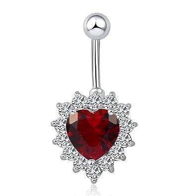 Amazon Com Fashion Women Body Piercing Jewelry 14g Hypoallergenic