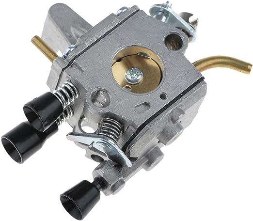 FLAMEER Carburador Trimmer & Weed Eater, Desbrozadora para STIHL FS120 FS120R FS200 FS200R FS020 FS202 TS200: Amazon.es: Jardín
