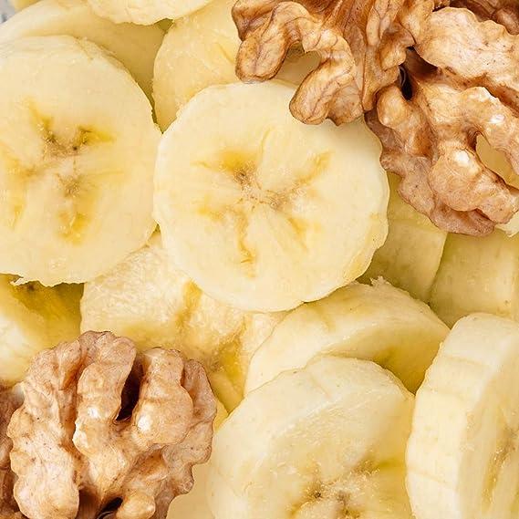Prozis 100% Real Whey Protein 1000 g Plátano con nueces