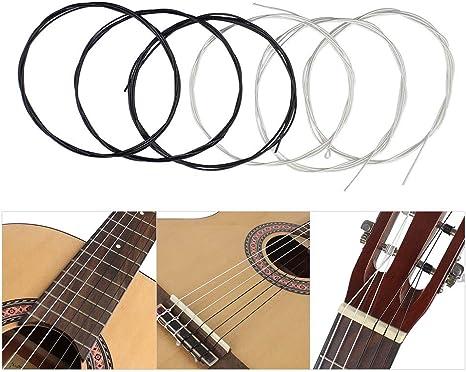 Doolland - Juego de cuerdas para guitarra clásica (6 unidades ...