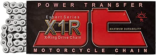 JT Sprockets JTC520X1R2NN036DL 36 Link Nickel Heavy Duty X Ring Drive Chain 520X1R2