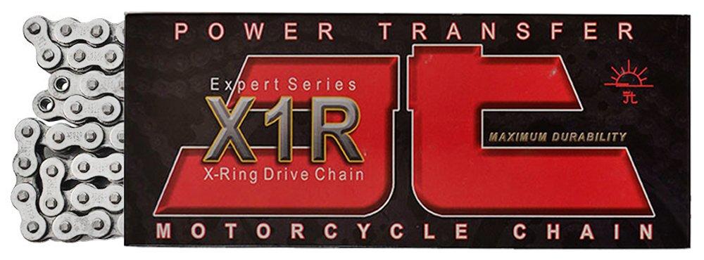 JT Sprockets 114 Link JTC520X1R2NN114DL Nickel 114-Link Heavy Duty X-Ring Drive Chain (520X1R2)