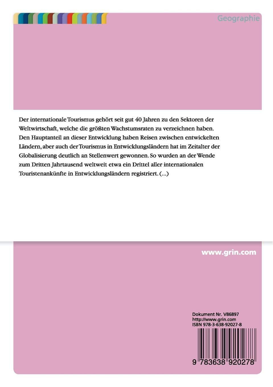 Tourismus in ländlichen Räumen der Entwicklungsländer: Chancen und Risiken (German Edition)