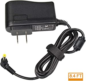 9.5V AC/DC Adapter for Casio ADE95100LU - UL Listed Power Supply Charger for Casio Piano Keyboard - Only Compatible for Listed Models (8.4 Ft Long Cord)