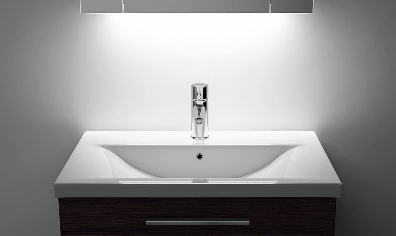 Ambient Bathroom Mirror Cabinet With Sensor & Internal Shaver Socket K121w:  Amazon: Kitchen & Home
