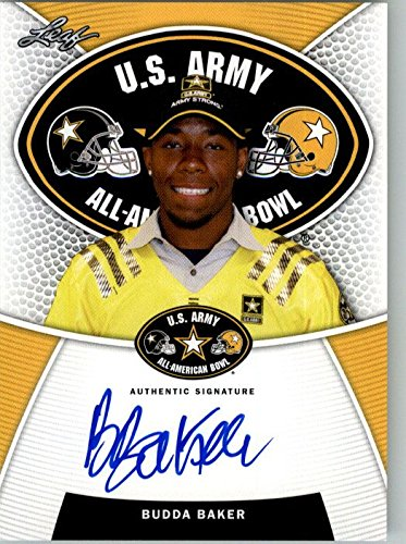 2014 BUDDA BAKER Leaf US Army Autograph Rookie Auto RC WASHINGTON from Leaf