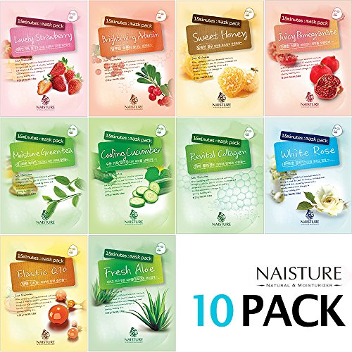 NAISTURE Collagen Facial Mask Sheet product image