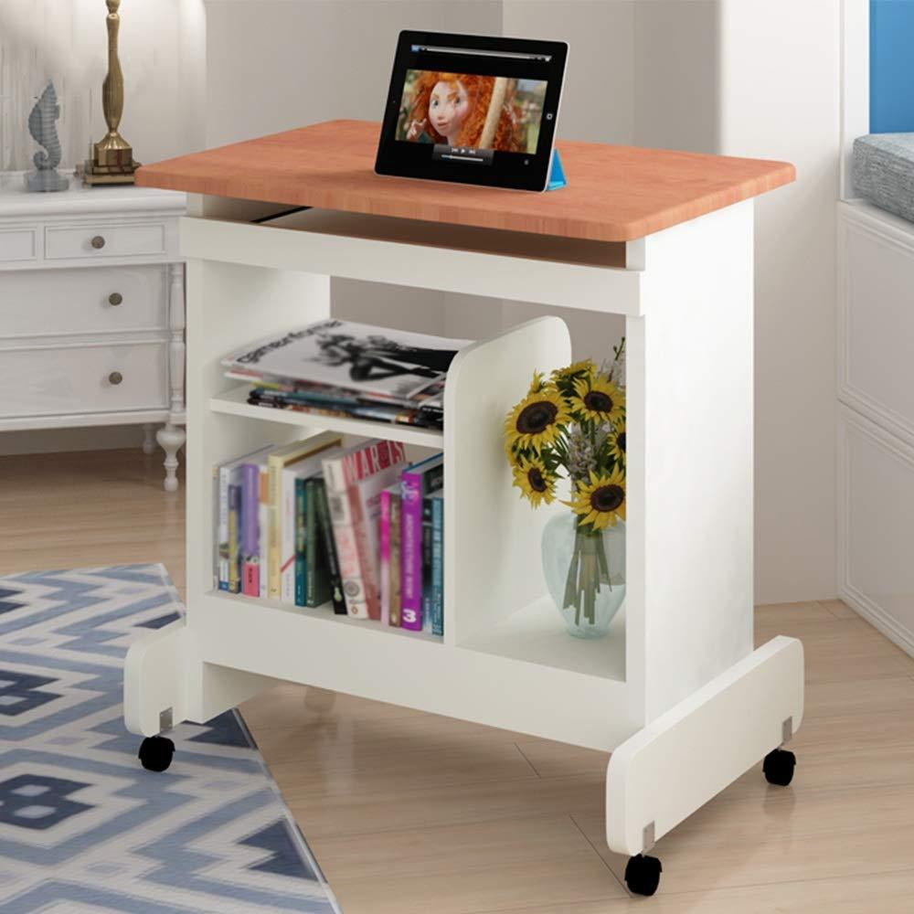 C  BJYG Table d'appoint Pliable pouvant Se déplacer avec Frein Famille Table Basse Table à thé Table de Chevet (Couleur C) C