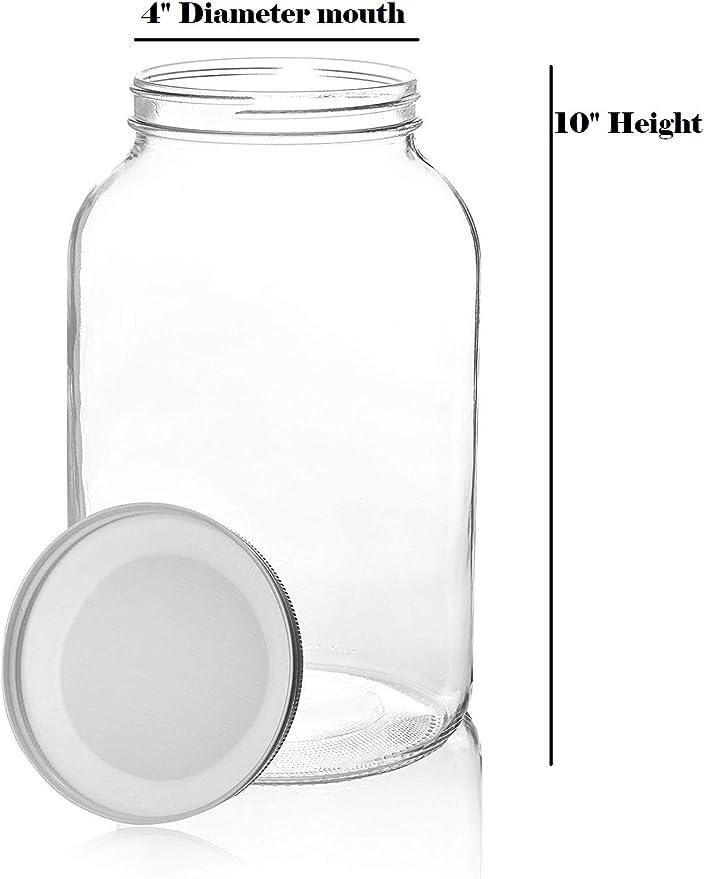 700 ml vasos antipolillas Tarros de cristal con tapa al vac/ío 450 ml juego de 3 Kitchen/&CO sin BPA almacenamiento herm/ético con tapa 1000 ml