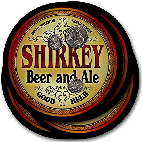 Shirkeyビール& Ale – 4パックドリンクコースター   B003QX7DNA