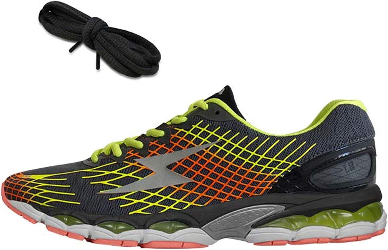 Zeus - Zapatillas de Running de Caucho para Hombre Gris Size: 42 ...