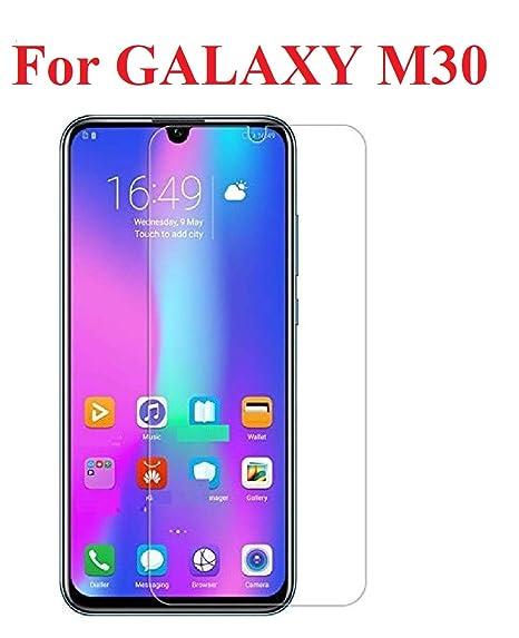 Kavacha Samsung Galaxy M30 Tempered Glass Perfect Fit Transparent