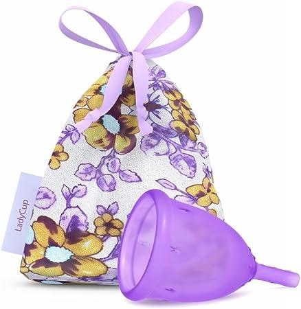 LadyCup - Lady cup Copa menstrual Lila Talla L 46 mm