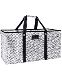 ERRAND BOY, Extra-Large Grocery Tote Bag with Max-Capacity Breakaway Zipper (Multiple Patterns Available)