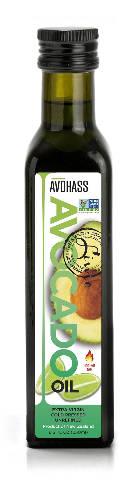 Avohass New Zealand Lime Extra Virgin Avocado Oil 8.5 fl oz