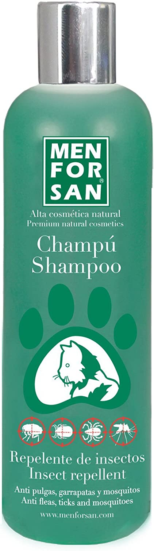 MENFORSAN Champú Repelente Insectos Gatos - 300 Ml 300 ml: Amazon.es: Productos para mascotas