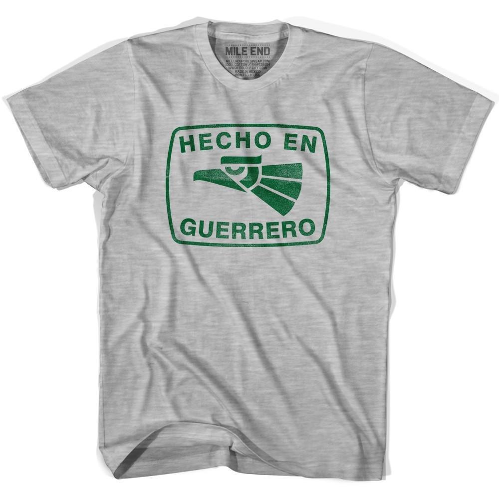 Hecho En Guerrero Vintage T-shirt XXXX-Large White