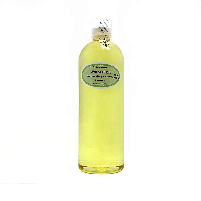 Walnut Oil Organic Cold Pressed 16 Oz / 1 Pint