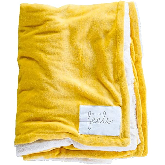 All the Feels | Extra Cozy Reversible Blanket