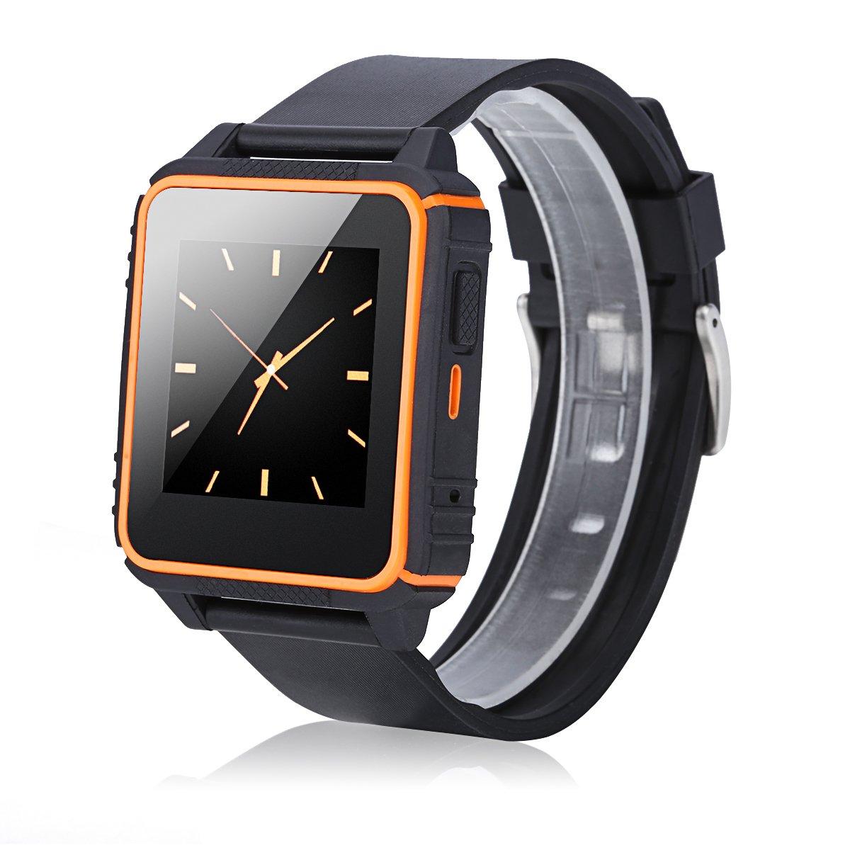 Excelvan W08 - Smartwatch Reloj para Smartphone (SIM, Llamada ...