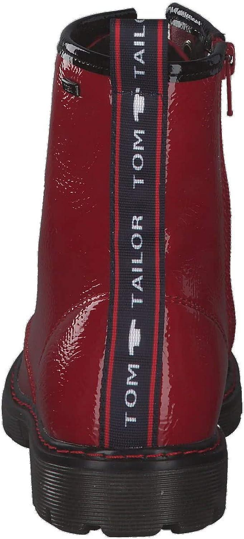 Tom Tailor 9071602, Stivali a metà Polpaccio Bambina Rosso