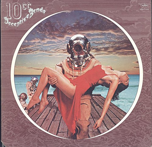 10cc: Deceptive Bends LP VG+/NM USA Mercury SRM-1-3702 ()