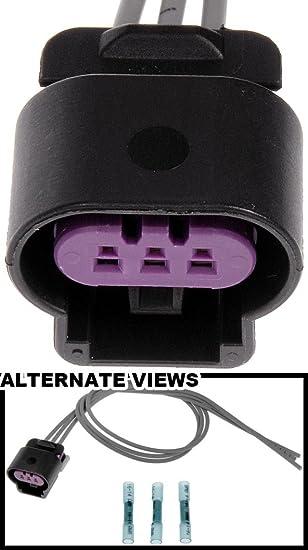 Amazon.com: apdty 756624 Cableado Arnés Conector Pigtail 3 ...