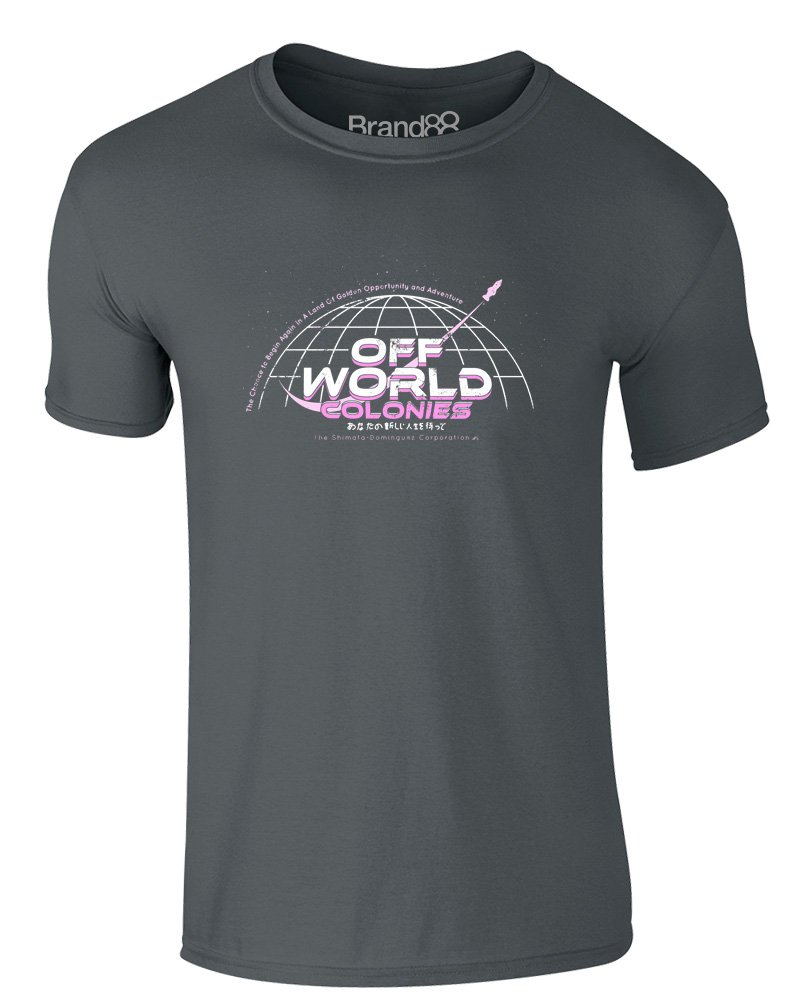 Off World Colonies Adults T Shirt