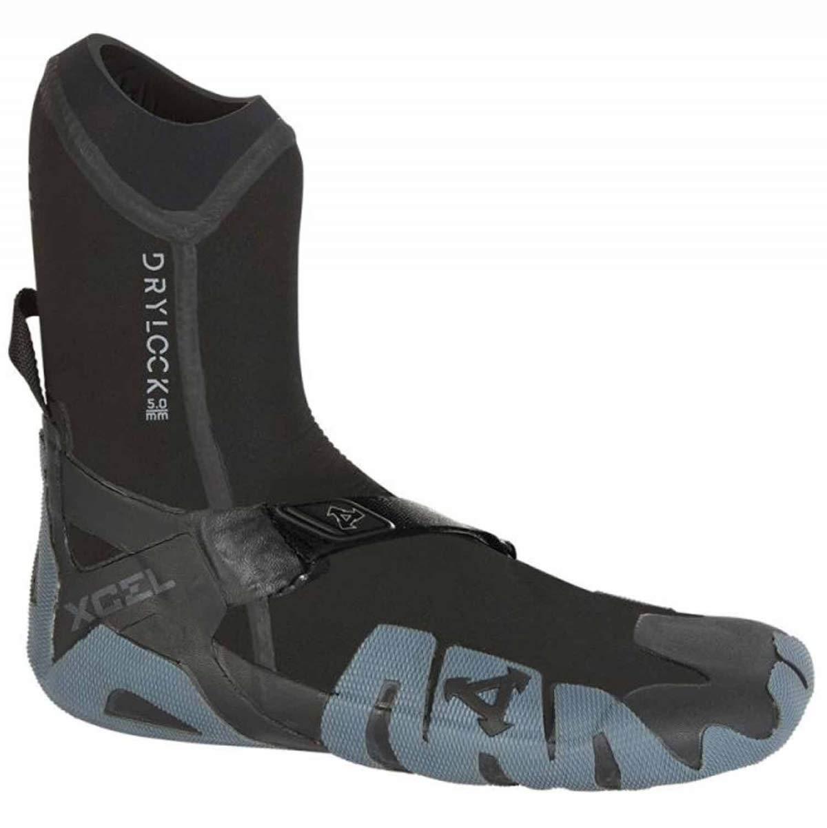 Xcel Fall 2017 Drylock Round Toe Boots, Black/Grey, Size 13/7mm