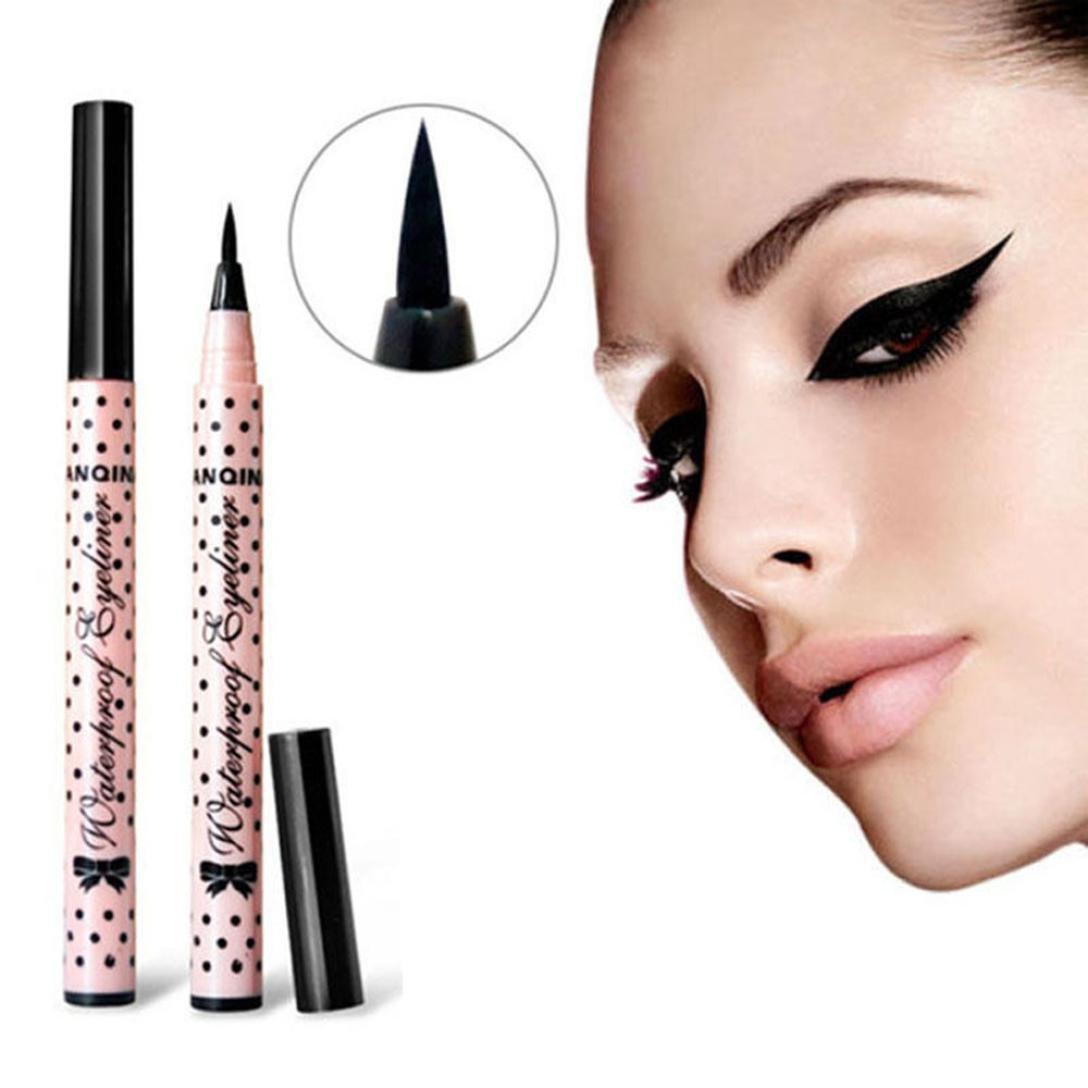 KissU Eyeliner Pen Makeup Cosmetic Black Pink Liquid Eye Liner Pencil Make Up Tool by Kiss-u B01HXBGCPK