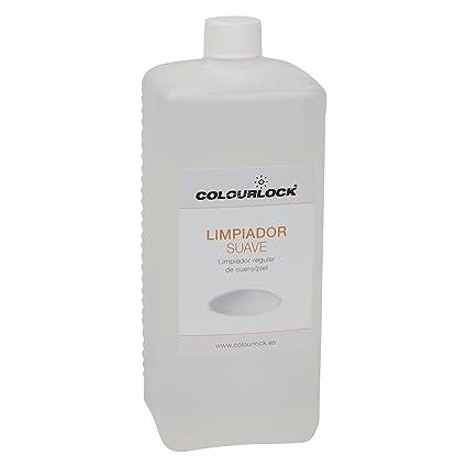 Limpiador suave cuero/piel, Litro + botella espuma 125 ml ...
