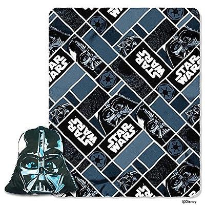 Star Wars Darth Vader 2 Pc Big Face Mask Pillow & Throw Blanket Set: Home & Kitchen