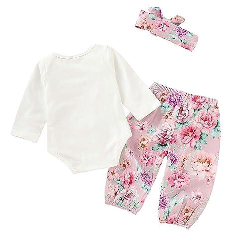 Amazon.com: Conjunto de ropa de primer cumpleaños para bebé ...