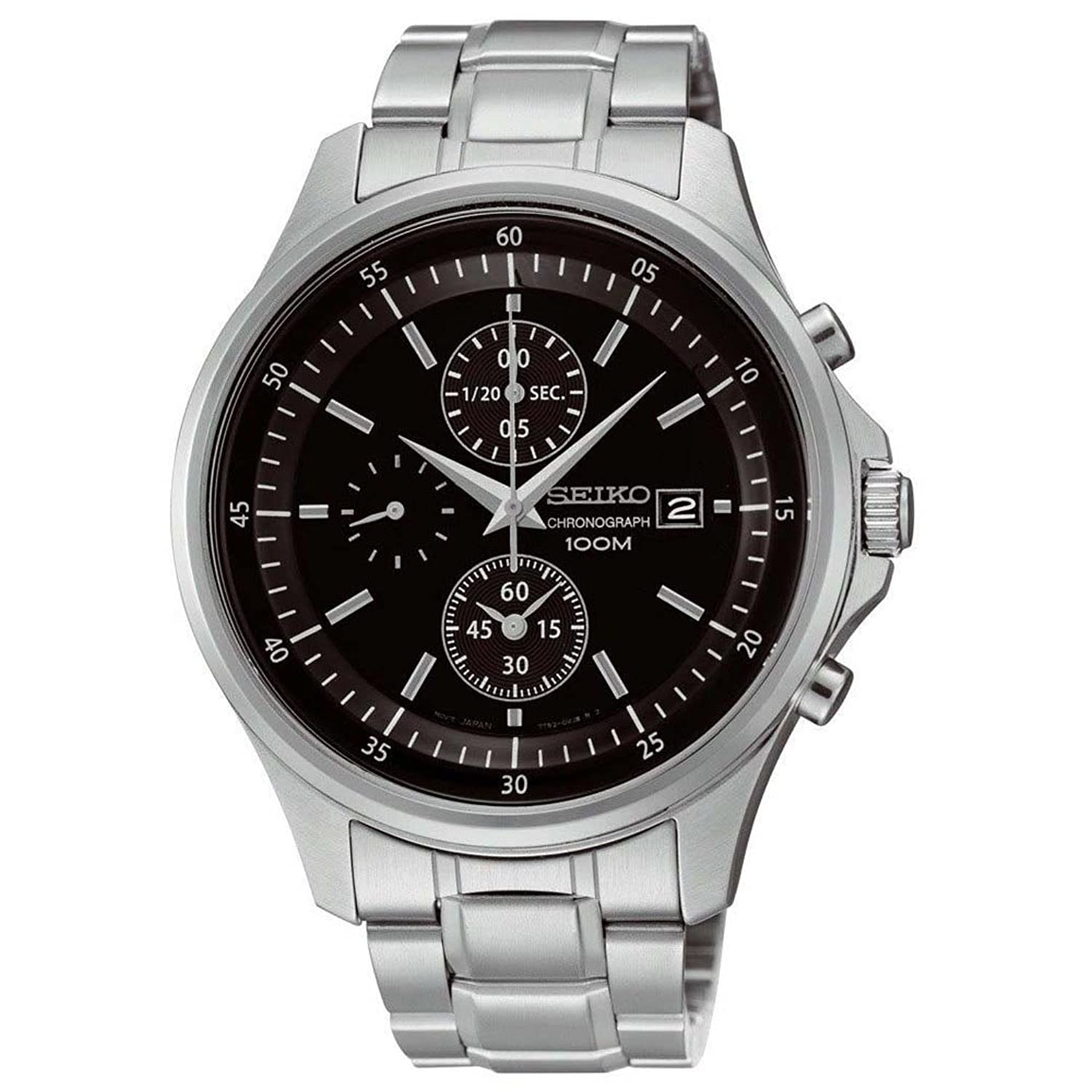 chronograph seiko only quartz product watches vintage