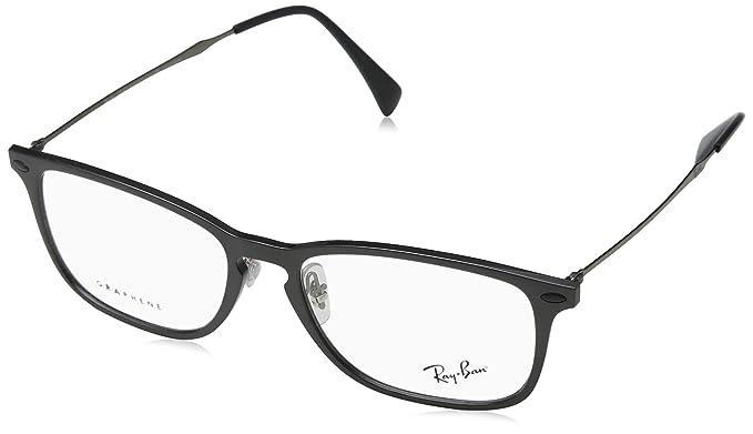 Amazon.com: anteojos Ray-Ban óptico RX 8953 8029 Gris ...