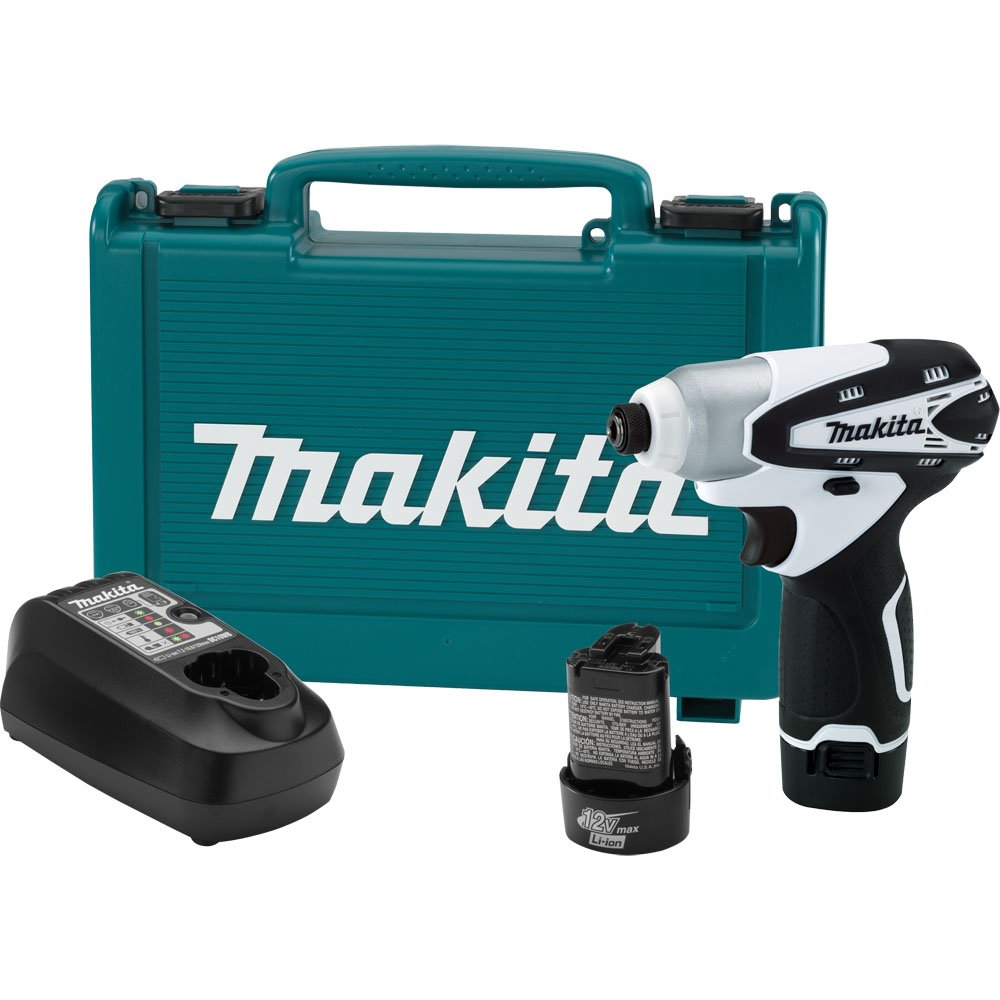 Makita DT01W 12V max Lithium-Ion Cordless Impact Driver Kit (Discontinued by Manufacturer) by Makita (Image #1)