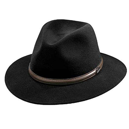ef1afcc19c166 Borsalino Laredo Fur Felt Hat at Amazon Men s Clothing store